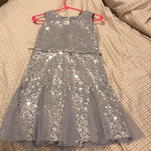 Other - Girls silver sequin party dress